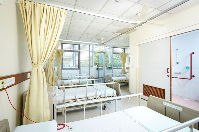 Nursing Bed, elderly care in Singapore